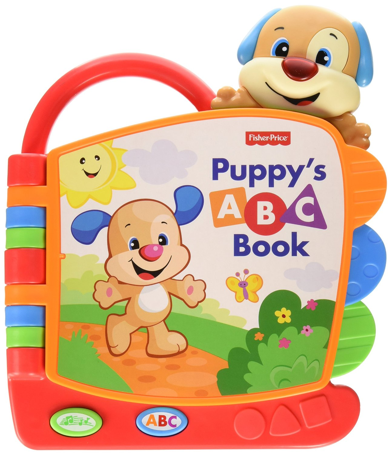 Fisher Price Laugh and Learn Puppy s ABC Book